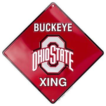 Ohio State Buckeyes Merchandise - Crossing Sign