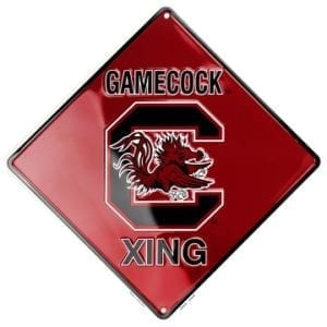 South Carolina Gamecocks Merchandise - Crossing Sign