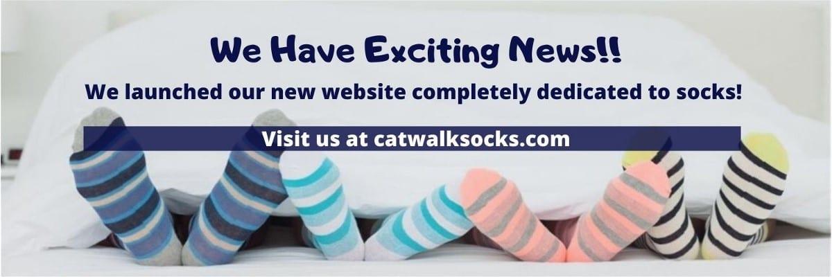 Catwalk Socks Banner