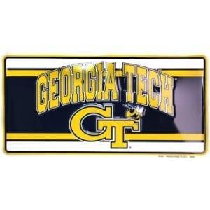 Georgia Tech Merchandise - License Plate