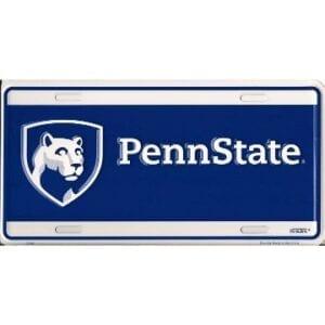 Penn State Merchandise - License Plate