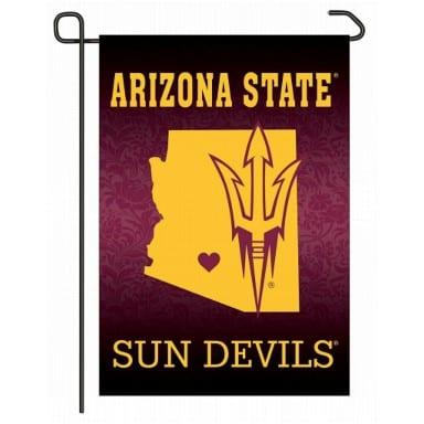 ASU Sun Devils Home State Garden Flag